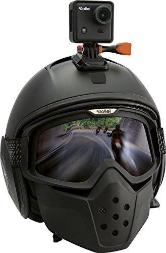 Rollei Actioncam 410 mit Handgelenk Fernbedienung (4 Megapixel, Full HD, 1080 fps, 60 fps, WiFi Funktion) inkl. Unterwassergehäuse schwarz -