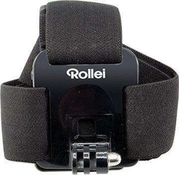 Rollei Kopfband – Head Strap für Rollei Actioncam 200 / 300 / 400 und 500 Serie und GoPro Hero Modelle - Schwarz -